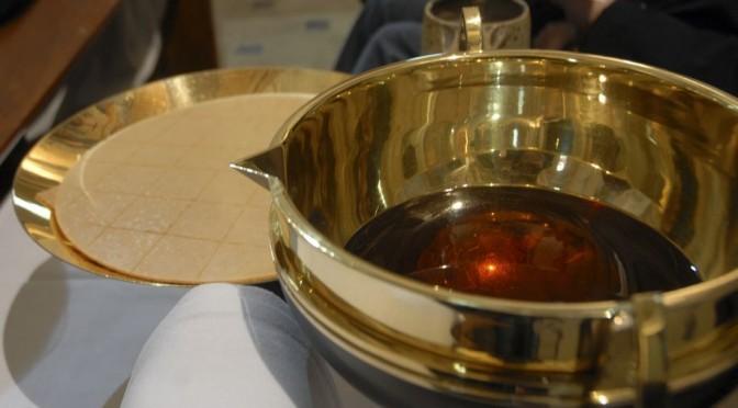 Offrandes de la messe, pain et vin
