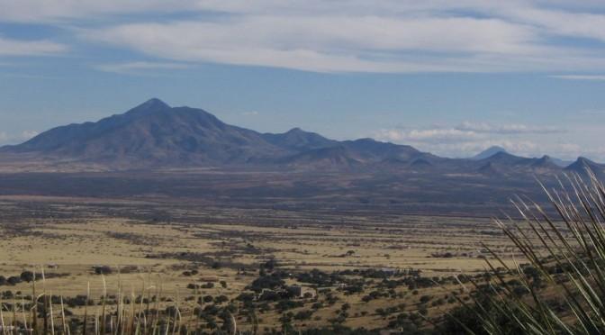 montagne d'Arizona pour le 2e dimanche de Carême C