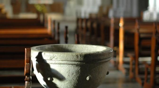 baptistère pour le 2e dimanche de l'Avent